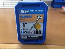"Kreg Pocket Hole Screws - 1"", #6 Fine, Pan-Head, 100 Pkt"