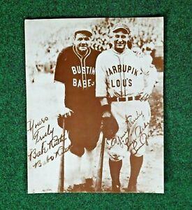 Babe Ruth Lou Gehrig Baseball Sport 11x14 Print