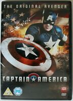 DVD R2 - Captain America The Original Avenger - 101 Films 1992 - Preowned