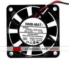 Original NMB Inverter fan 2406KL-05W-B59 DC24V 0.13A 2 months warranty