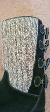 Timberland Women Black Boots Flat #90339-5778 Sz 7 1/2