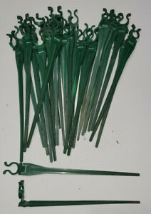 Used 200 Christmas Light Stakes For C-7 And C-9 Bulbs, Landscaper Closing!!