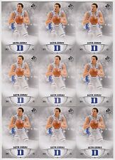 2013/14 UPPER DECK SP AUTHENTIC 12 CARD LOT OF SETH CURRY RC ROOKIE CARD #26