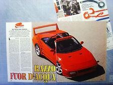 AUTO996-RITAGLIO/CLIPPING/NEWS-1996-TOYOTA MR2 SCS PIRANHA - 3 fogli
