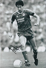 Alan HANSEN SIGNED Autograph Photo AFTAL COA Liverpool Crown Paints Shirt RARE