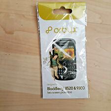 Protections d'écran pour Blackberry Curve 8520/9300 (écran 2.46 in (environ 6.25 cm)) Pack de 2