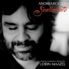 ANDREA BOCELLI /LORIN MAAZEL -SENTIMENTO CD KLASSIK NEW+