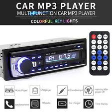 In Dash 12V Bluetooth Car Auto Stereo Radio USB SD FM Aux Input MP3 Audio Player