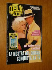 TELESETTE 1990/36=MADONNA COVER MAGAZINE WARREN BEATTY DICK TRACY=SABINA STILO