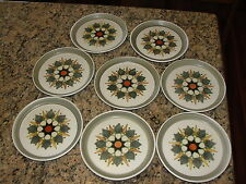 8 Denby Langley Sherwood Bread & Butter Plates