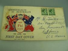 First Day cover 19th June 1950 Commonwealth of Australia Adelaide 3051