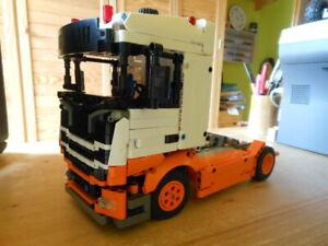 Lego-Technic: Scania Sattelzugmaschine - MOC Eigenbau Unikat