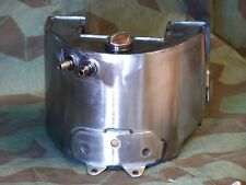 Knucklehead, Panhead Raw Steel Oil Tank. 36 - 57 Rigid Frame