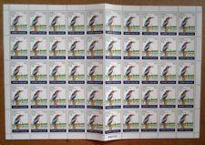 Bangladesh 1983 Birds set of 4 sheets of 50 MNH SG 204-07 £450