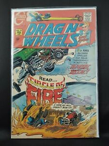 Drag N' Wheels #39 Featuring Scot Jackson 1970 Charlton Comic VG/FN OW Pages