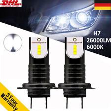 110W 26000LM H7 Auto COB LED Scheinwerfer Kit Birnen DRL Leuchte Lampen Weiß 6K