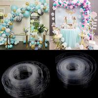 Plastic Balloon Chain PVC Wedding Party Birthday Balloons Backdrop DecorATSEBDA