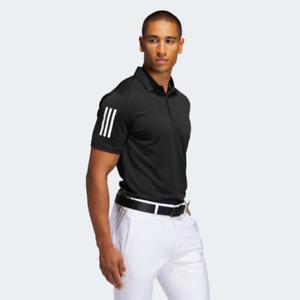 adidas Men's Golf 3-Stripes Basic Polo Shirt