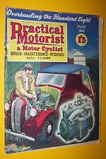 1956 July practical Motorist cyclist Magazine overhauling the Standart Eight
