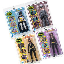 Batman 66 Classic TV Show Mego Style 8 Inch Figures Series 6: Set of all 4