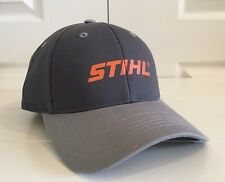 "Stihl Outfitters Charcoal & Grey ""Proud Owner"" Hat Cap Adjustable"