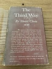 The Third Way - Stuart Cloete - Signed - First Limited Edition - Rare!