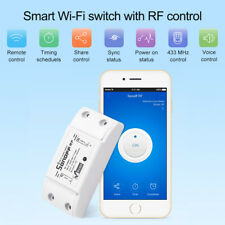 1-3* SONOFF 433MHz RF WIFI Smart Switch Timer Function Support Alexa Google Home