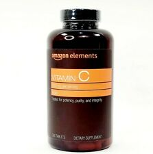 Amazon Elements Vitamin C 1000 MG Vegan For Immune Support - 300 Tablets