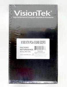 VisionTek 400204 ATI Radeon X1950 XTX PCIe 512MB GDDR3 VGA Video Graphics Card
