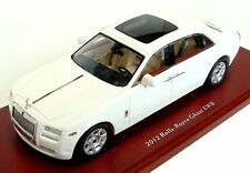 Rolls-Royce Ghost EWB Sedan, White 2012 Cars, TrueScale TSM134349  Resin  1/43