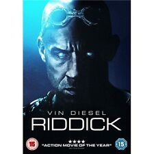 RIDDICK DVD - 2014 - VIN DIESEL - NEW / SEALED DVD