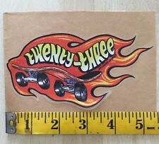 Sal Barbier 23 Skateboard Sticker Etnies Jordan Hot Wheels Spoof H Street Plan B