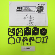 Partner Chainsaw A55 F55 P55 F65 P70 P7000 Walbro WS10 WS18 K10-WS Carb Kit
