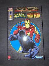 Marvel Legends RETRO Black Panther & Iron Man Kenner Action Figures Hasbro Pulse