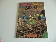 Edition Originale  GLENAT  RICHARD ET CHARLIE AU JAPON  TABARY  oct05