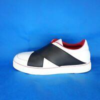 Proenza Schouler Damen Schuhe Sneaker Sportschuhe Größe 37 Weiß Leder Np 379 Neu