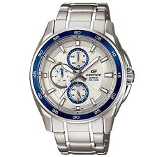 Casio Edifice EF-334D-7A EF-334D Screw Lock Back Watch Brand New