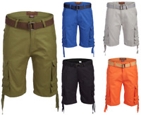 Men's Cargo Shorts Distressed Military Cargo Short Tactical 8 multi Pockets
