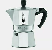 Bialetti Moka Express Aluminum Stovetop Espresso Maker, 3 Cup, Made in Italy