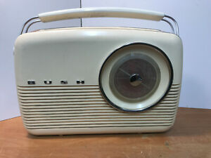 Vintage Bush Transistor Radio TR82/DL Tested Fully Working Circa 1960's