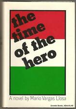 Mario Vargas Llosa, TIME OF THE HERO 1966 HBDJ First Edition/First Printing