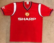 ac95bf216d8 Manchester United Man Utd 1984 - 1986 Adidas Home Shirt  Large 102 - 107cm