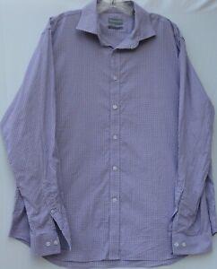 Michael Kors men's long sleeve slim fit stretch office/dress shirt 17-17.5 34/35