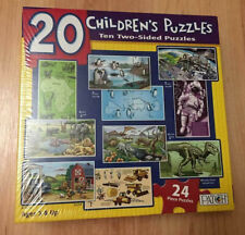 Patch 20 Children's 24 pc Puzzles - Ages 3 & UP New