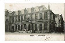 CPA Carte Postale Belgique-Anvers La Bibliothèque-début 1900  VM24143c