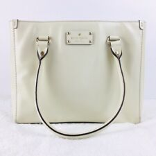 Kate Spade Women's Wellesley Quinn Off White Leather Tote