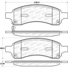 Disc Brake Pad Set-Street Brake Pads Front Stoptech 308.11690