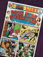 Four Star Spectacular #1,Dc 31530 Apr '76 ,w sheet & board Vg+ condition