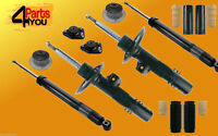 4X Shock Absorbers SET BMW X3 E83 dampers kit Front + REAR + COVERS + TOP MOUNTS
