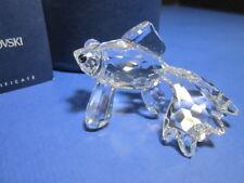 "Swarovski Crystal Figurine #631103 ""Telescopic Fish"" Mib Collectible"